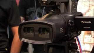 Panasonic Twin-lens 3D HD Video Camera - AG-3DA1 : DigInfo