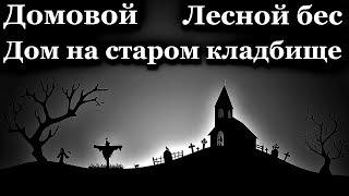 Обложка на видео о Истории на ночь (3в1): 1.Домовой, 2.Лесной бес, 3.Дом на старом клад6ище