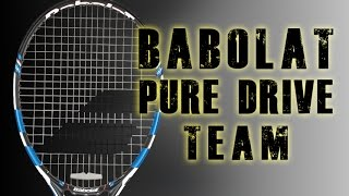 Ρακέτα τέννις Babolat Pure Drive Team DEMO video