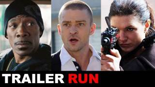 Tower Heist Trailer, In Time Trailer, Contagion Trailer, Haywire Trailer