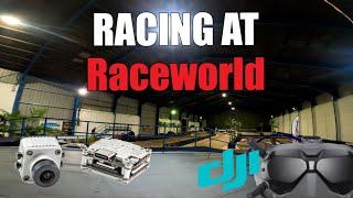 Racing at Raceworld - HaloRC Guitarpick - DJI Caddx Vista FPV Toothpick Racing