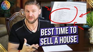When Is The Best Time To Sell a House
