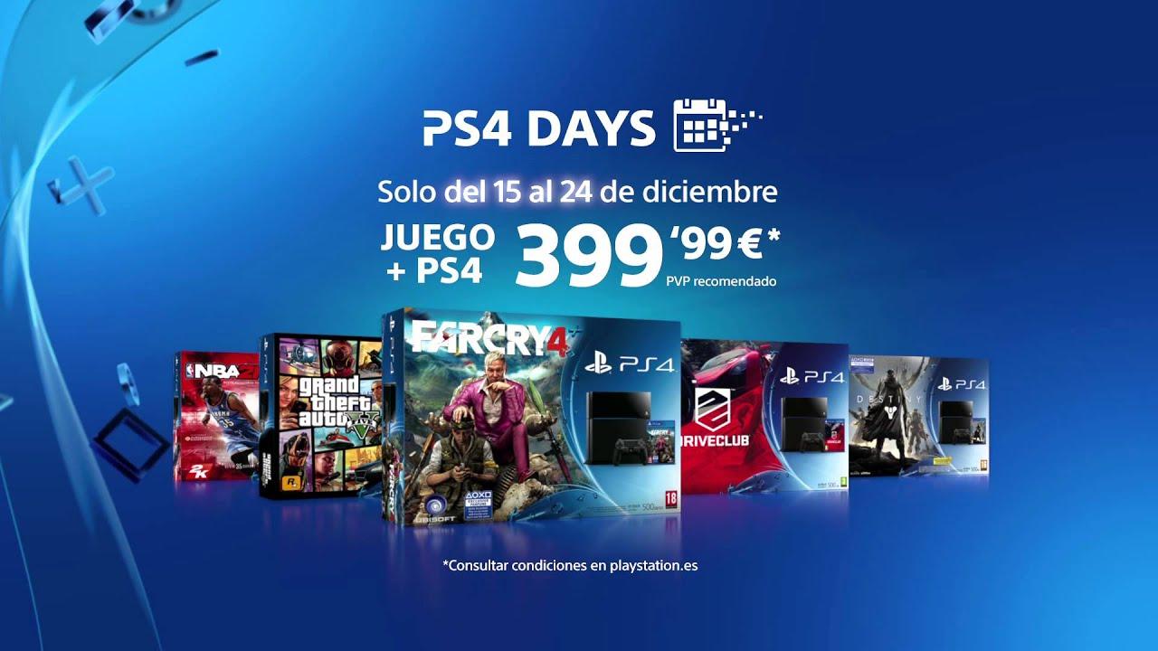 Llegan los PS4 DAYS
