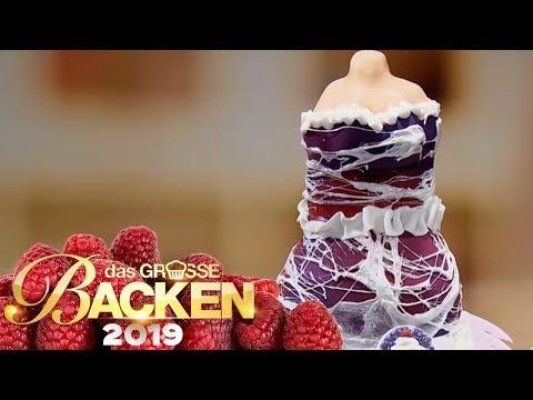XXL-Prinzessin-Kleid-Kuchen: Wer backt das schönste Kleid? | Aufgabe | Das große Backen 2019 | SAT.1