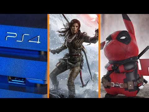 PS4 Price Cut! + New Tomb Raider Announced + Deadpool Does Pikachu - The Know