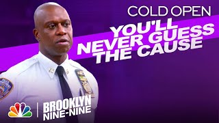 Cold Open: Holt's Mysterious Injury - Brooklyn Nine-Nine (Episode Highlight)
