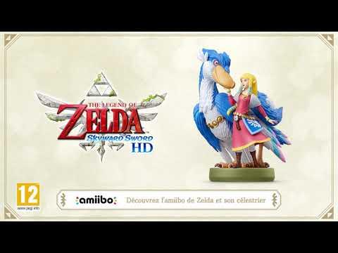 Skyward Sword HD : Bandes annonces - Bande annonce de l'Amiibo Zelda et son Célestrier