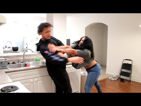 Extreme Calling Girlfriend Another Girl's Name (PRANK)!!