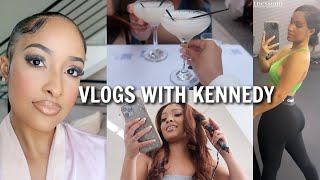 WEEKLY VLOG: COOCHIE WAX DAY, DINNER DATES, WORKING OUT + MORE