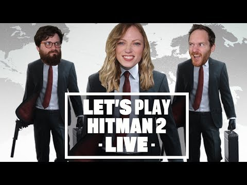 Let's Play Hitman 2 LIVE – Who is the best at hitting the mens?