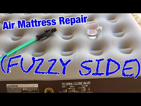 Air Mattress Repair (fuzzy side)