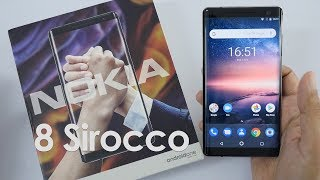 Nokia 8 Sirocco Unboxing & Overview - Nokia's Flagship