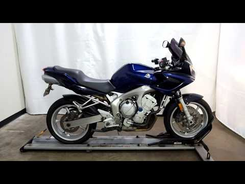 2005 Yamaha FZ6 in Eden Prairie, Minnesota - Video 1