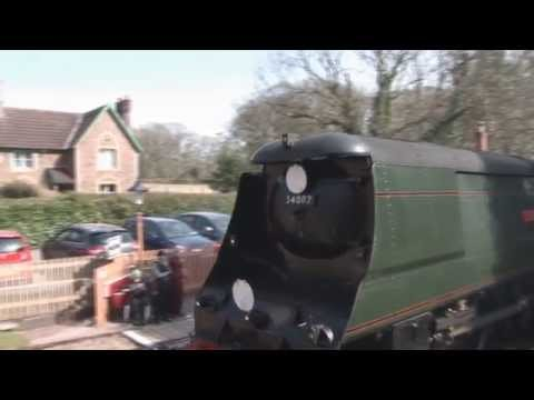 The West Somerset Railway Spring Gala 30th March 2014