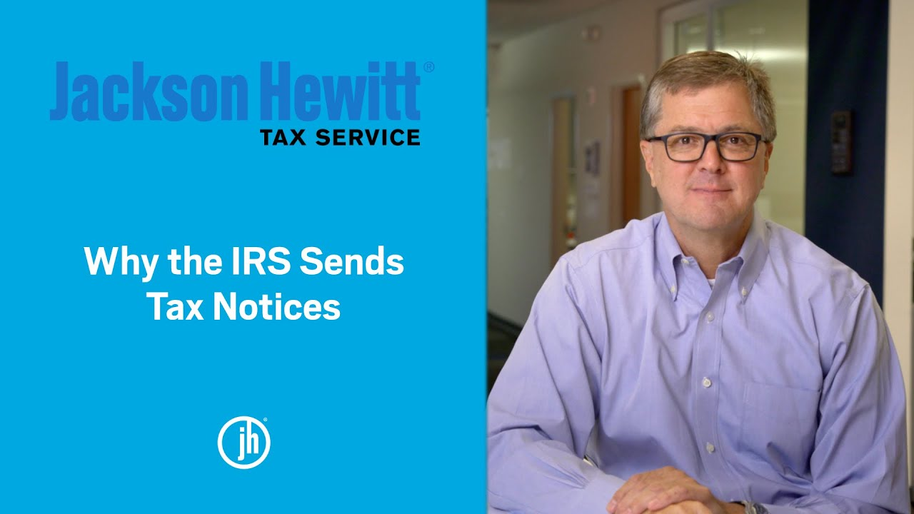 Why does the IRS send a tax notice and what to do YouTube thumbnail