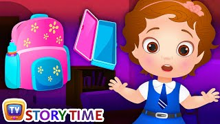 ChuChu Loses School Supplies - Bedtime Stories for Kids in English | ChuChu TV Storytime