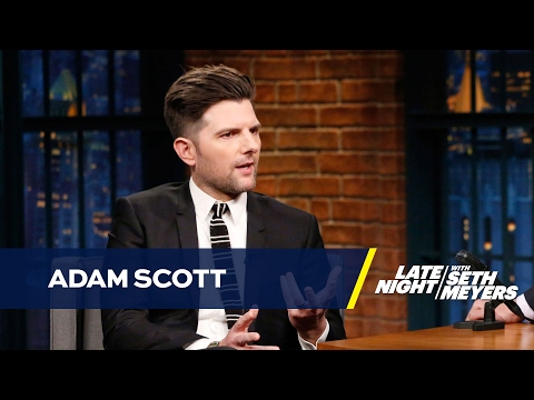 Adam Scott's Beard Was His Idea