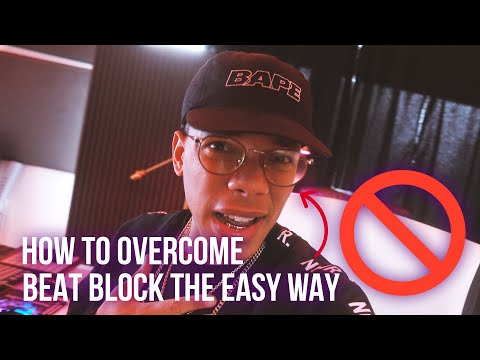 HOW TO OVERCOME BEATBLOCK / GET NEW INSPIRATION FOR BEATS!!! (Making A Beat) 😈😈😈