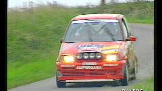 preview picture of video '24Hours Ypres Rally 1996 - ERC - Trofeo Fiat Cinquecento'