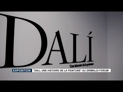 """Dalí, a history of painting"" exhibition at the Grimaldi Forum"