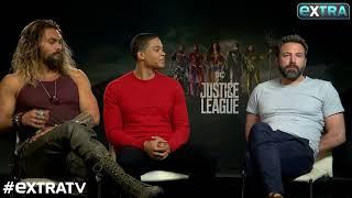 JUSTICE LEAGUE | ExtraTV : Jason Momoa's Lifelong Dream to Host 'SNL'