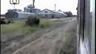 preview picture of video 'Viaje en tren local de FeMed - Pasada por Manfredi'
