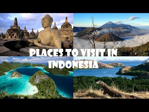 Video Places to Visit in Indonesia
