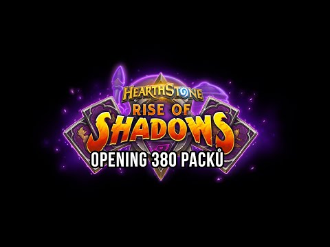 Opening 380 packů Rise of Shadows