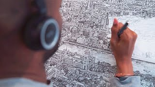 Stephen Wiltshire - Autistic Savant Artist Draws Cities From Memory