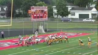 preview picture of video 'Glen Falls Greenjackets vs Plattsburgh Northstars 07/28/12 FB'