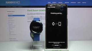 How to Pair SAMSUNG Gear Sport with Smartphone – Bluetooth Device Connection
