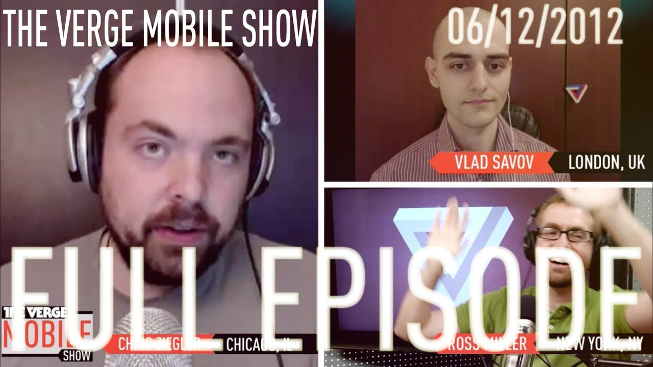 The Verge Mobile Show 004 - June 19th, 2012 thumbnail