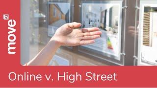 Online Vs High Street Estate Agents | Property Tips