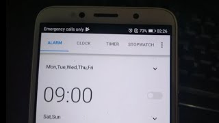 How to set Alarm in android phone