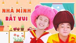 Mầm Chồi Lá - Nhà Mình Rất Vui | Nhạc Thiếu Nhi Cho Bé | Vietnamese Songs For Kids