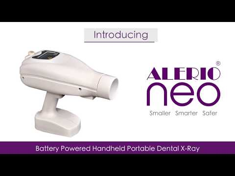 Alerio NEO Hand Held Portable Dental X-Ray Machine - AERB CERTIFIED