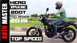 Hero Xpulse 200T Top Speed Tamil (2019)