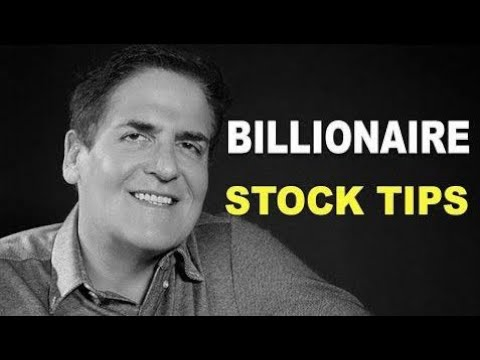 Mark Cuban Investment Advice | Tips for Young People Investing in Stocks
