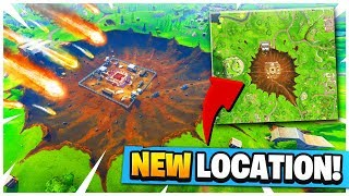 NEW DUSTY DIVOT LOCATION IN FORTNITE *MAP UPDATE*