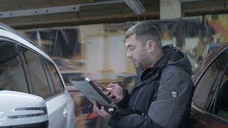 Мой рабочий день #2 AUDI, Mercedes-Benz и Porsche - проверка автомобилей.