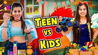 Teen vs Kids   Sanjhalika Vlog