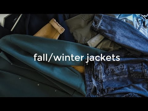 FALL / WINTER JACKETS 2018 | The 7 Jackets I'll Be Wearing | Men's Fashion | Daniel Simmons