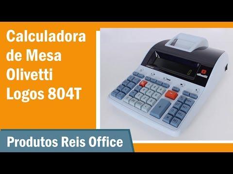 Calculadora  Olivetti Logos 804T - Tutorial