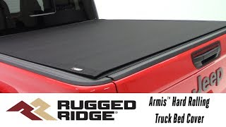 In the Garage™ with Total Truck Centers™: Rugged Ridge Armis™ Hard Rolling Truck Bed Cover