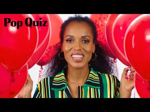 , title : 'Kerry Washington Plays a Game of Pop Quiz | Marie Claire'