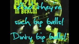 big balls by AC/DC with lyrics