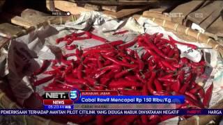 Harga Melambung Tinggi Cabai Juga Mulai Langka Di Pasaran  NET5