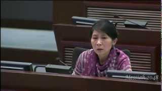 黃毓民:處理毛孟靜提出議案的過程