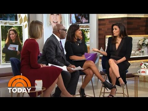 Eva Longoria Talks About Giving Back And New Son Santiago | TODAY