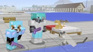 Minecraft Xbox One Survival Lets Play Episode  Fishing Challenge